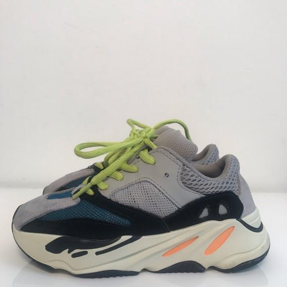 buy popular bb69d 1a52d Yeezy 700 Wave Runner Kids Replica